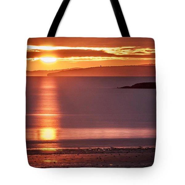 Traeth Bychan At Sunrise Tote Bag