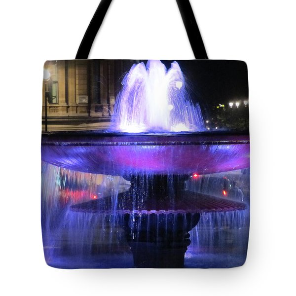 Trafalgar Square Fountain Tote Bag