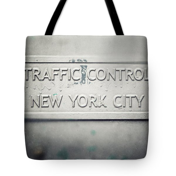 Traffic Control Tote Bag by Lisa Russo