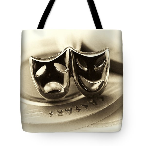 Tragedy And Comedy Tote Bag