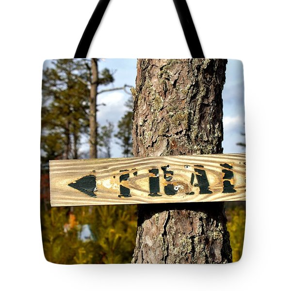Trail Tote Bag