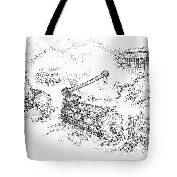Trail Divides Tote Bag