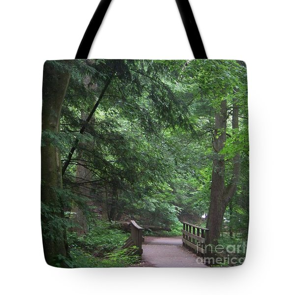 Trail To Ash Cave Tote Bag