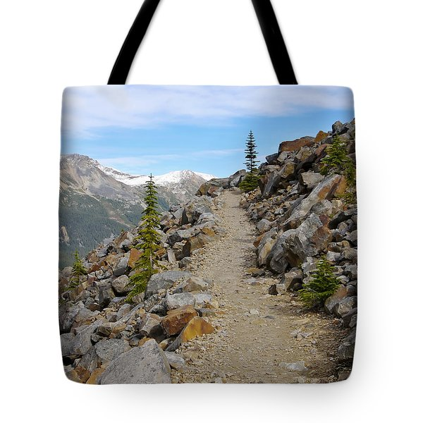 Trail To The Meadows Tote Bag