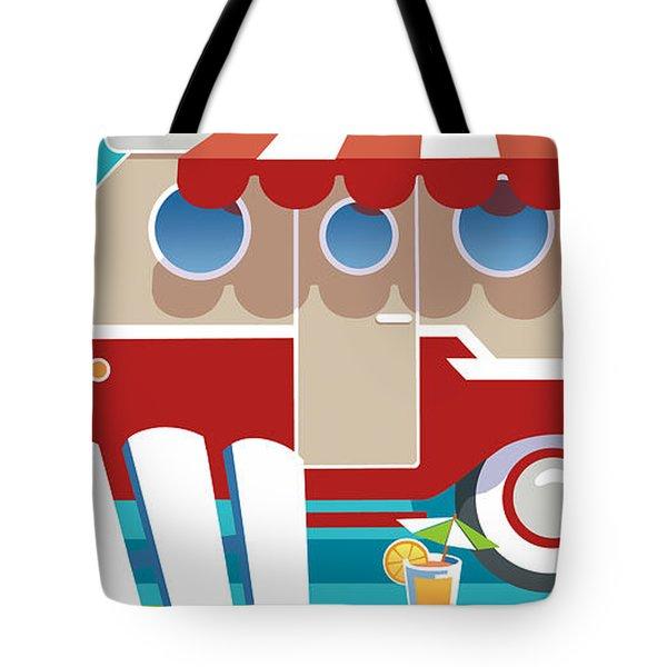 Trailer Park Tote Bag