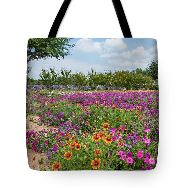Trailing Beauty Tote Bag by Lynn Bauer