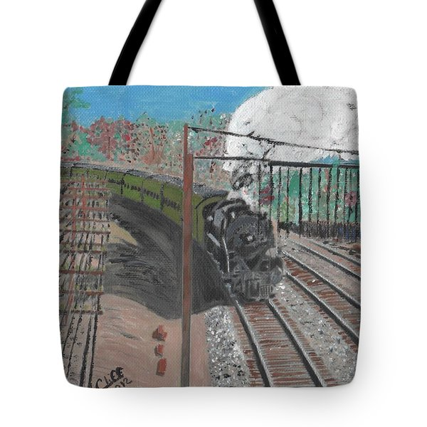 Train 641 Tote Bag