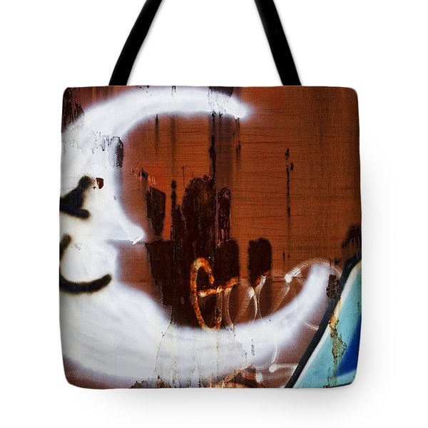 Train Art Man In The Moon Tote Bag by Carol Leigh