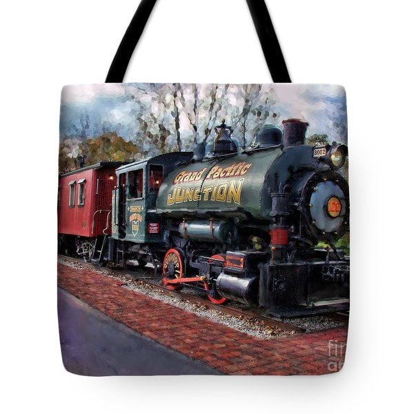 Train At Olmsted Falls - 1 Tote Bag