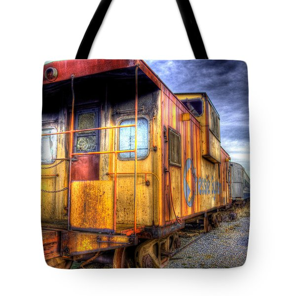 Train Caboose Tote Bag by Jonny D