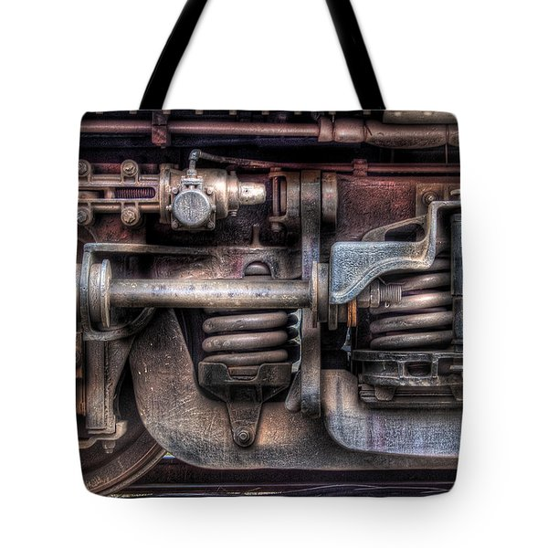 Train - Car - Springs And Things Tote Bag by Mike Savad