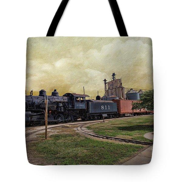 Train - Engine Tote Bag by Liane Wright