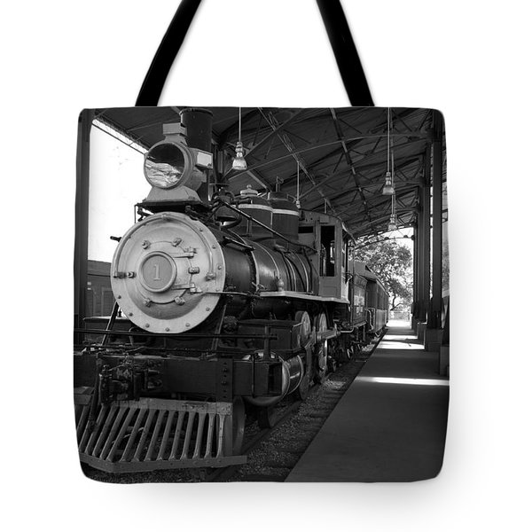 Train Tote Bag by Gandz Photography