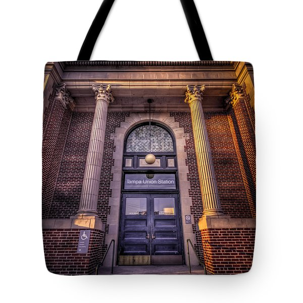 Train Gateway Tote Bag by Marvin Spates