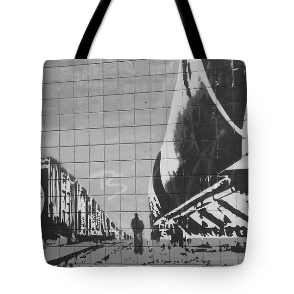 Train Graffiti  Tote Bag