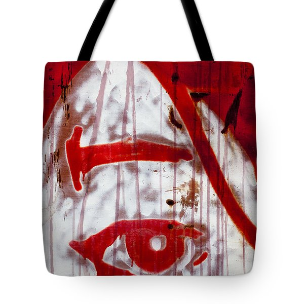 Train Graffiti Michael Jackson Tote Bag by Carol Leigh