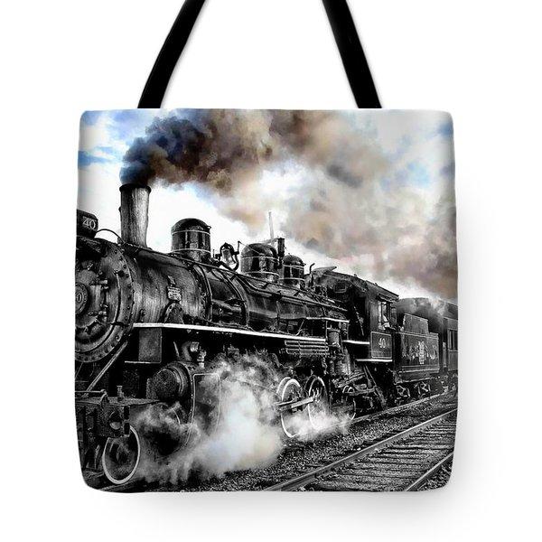 Train I Tote Bag