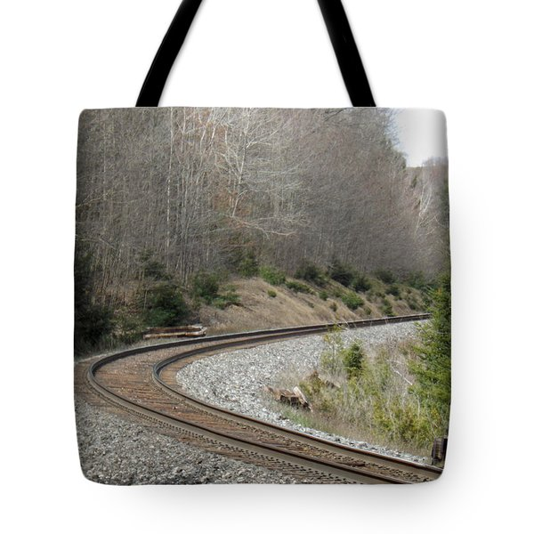 Train It Coming Around The Bend Tote Bag