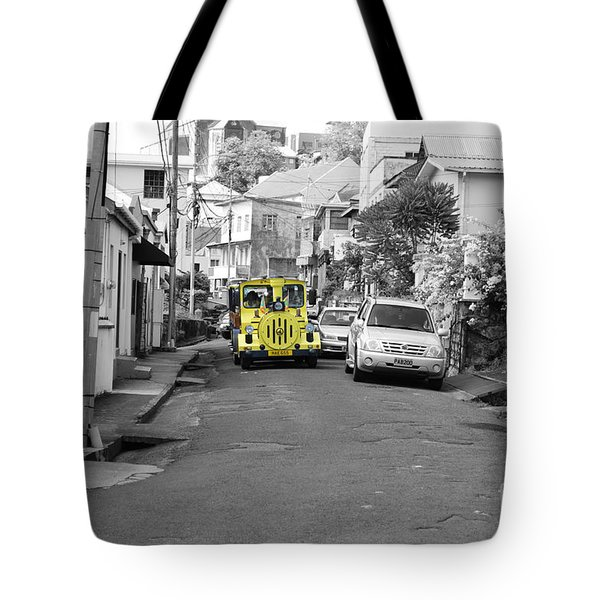 Train Ride Tote Bag