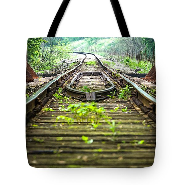 Train Trestle 2 Tote Bag