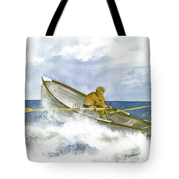 Training  Tote Bag by Nancy Patterson
