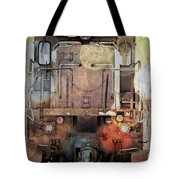 Trains At Rest Tote Bag