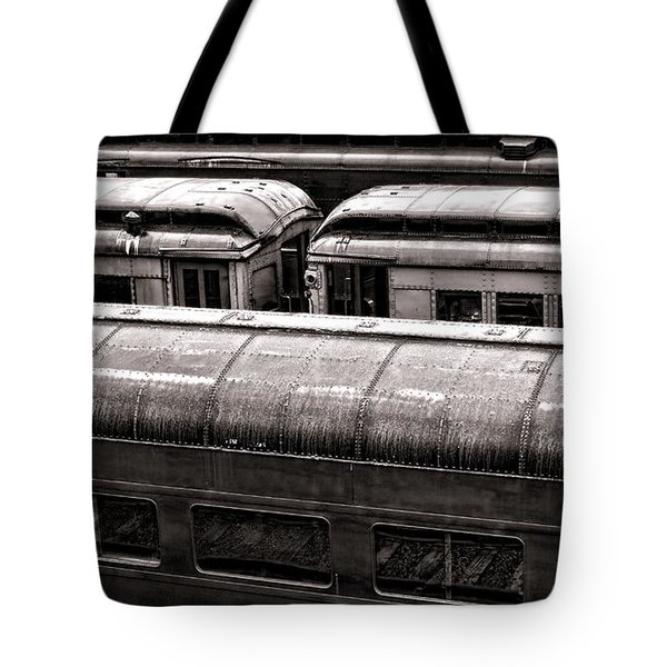 Trains Tote Bag