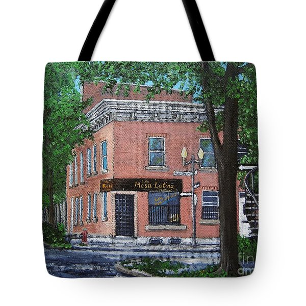 Traiteur Mesa Latina  Tote Bag