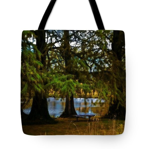 Tranquil And Serene Tote Bag