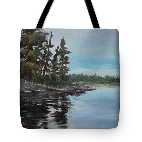 Tranquil Bay Tote Bag