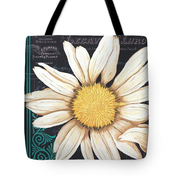 Tranquil Daisy 2 Tote Bag by Debbie DeWitt