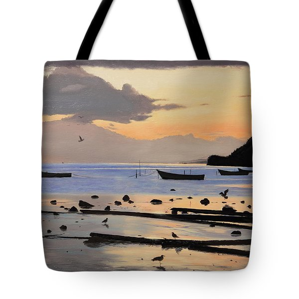Tranquil Dawn Tote Bag