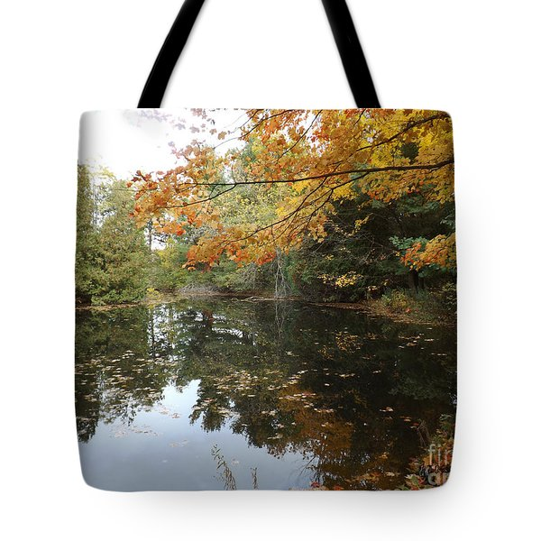 Tote Bag featuring the photograph Tranquil Getaway by Brenda Brown