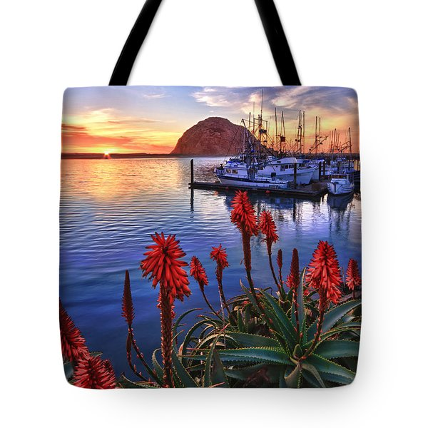 Tranquil Harbor Tote Bag by Beth Sargent