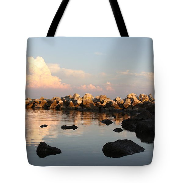 Tranquil Inlet Tote Bag