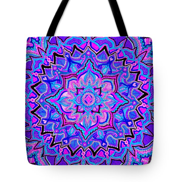 Tranquil Lotus Tote Bag