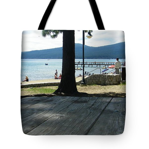 Tote Bag featuring the photograph Tranquil Moment by Bobbee Rickard