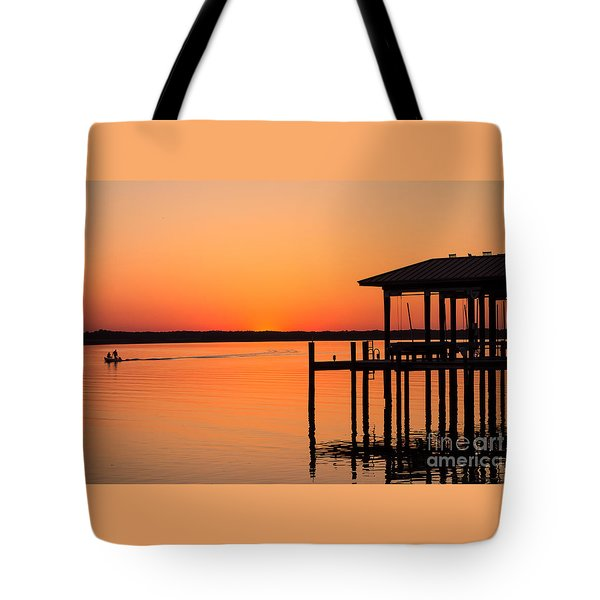 Tote Bag featuring the photograph Tranquil Moments by Mary Lou Chmura