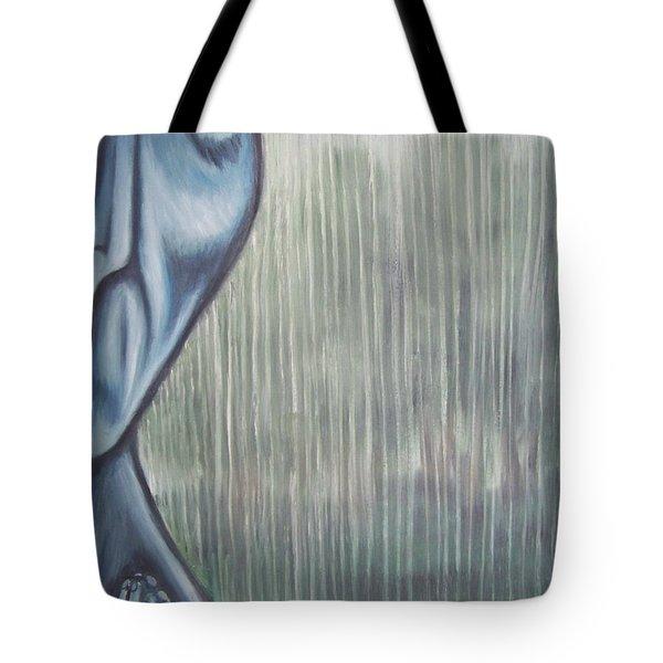 Tranquil Rain Tote Bag