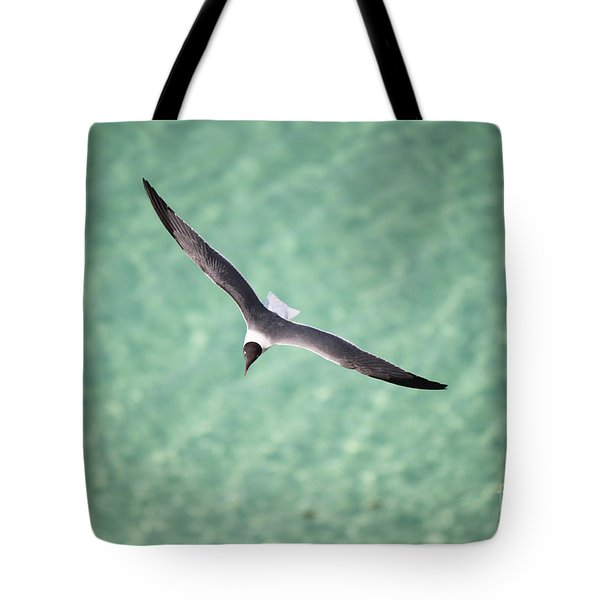 Tranquil Soaring Tote Bag