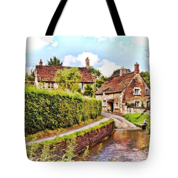 Tranquil Stream Lacock Tote Bag