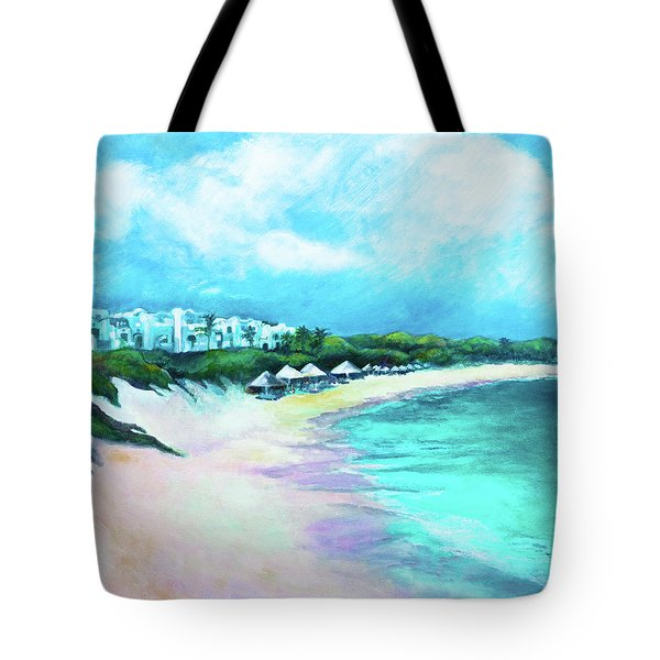 Tranquility Anguilla Tote Bag