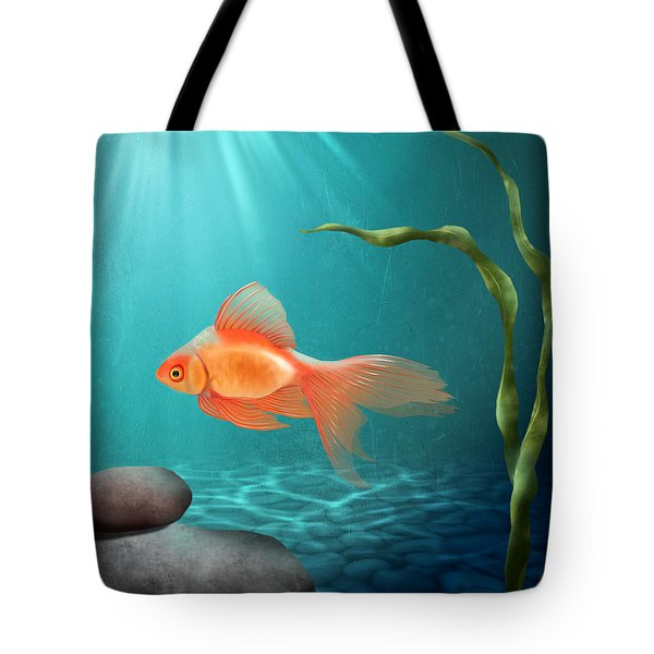 Tranquility Tote Bag by April Moen