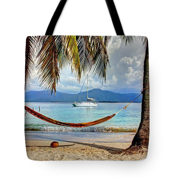 Tranquility Base Tote Bag by Bob Hislop