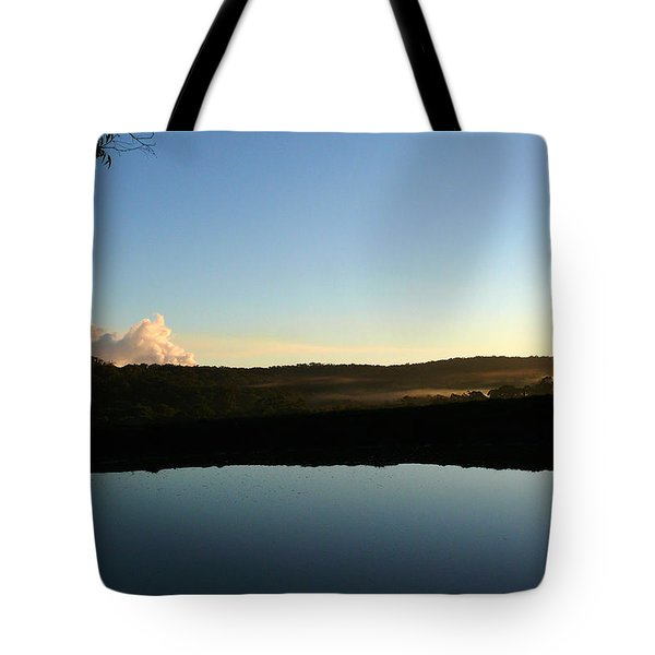 Tote Bag featuring the photograph Tranquility by Evelyn Tambour