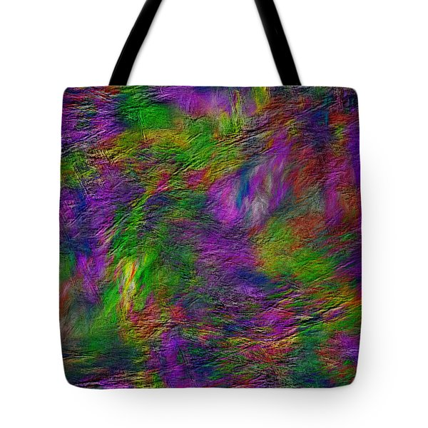 Tranquility In Oil Tote Bag
