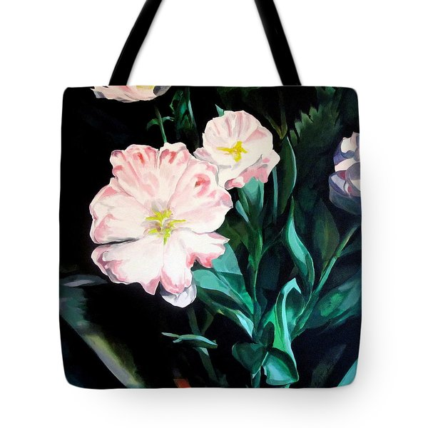 Tranquility In The Garden Tote Bag