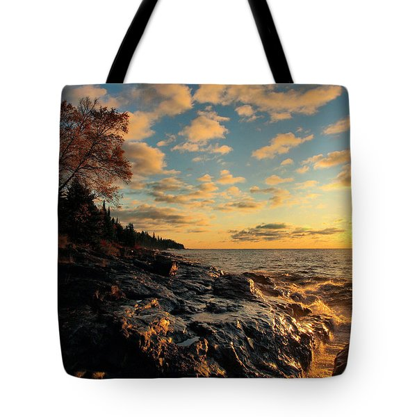 Tote Bag featuring the photograph Tranquility by James Peterson