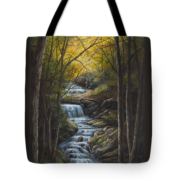 Tranquility Tote Bag by Kim Lockman