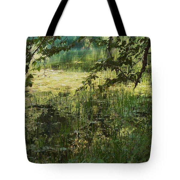 Tranquility Tote Bag by Mary Wolf